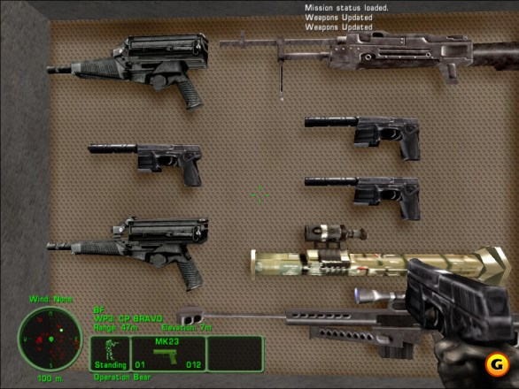 Weapons Development in Team Sabre Delta Force
