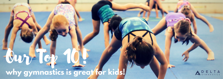 10 Ways Gymnastics Benefits Kids!