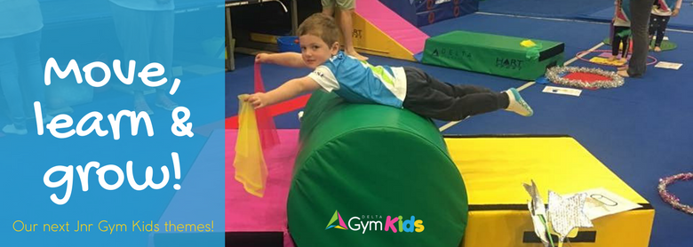 Learning Through Gymnastics – Our Next Jnr Gym Kids Themes