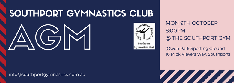 Come Along to the Southport Gymnastics Club AGM