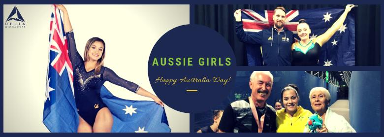 Aussie Aussie Aussie…. Delta's Australian gymnasts!
