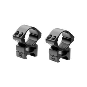 Nikko Stirling Match 30mm Rings – Weaver/Picatinny