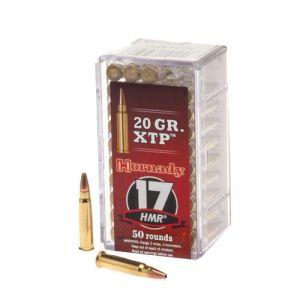 Hornady 17 HMR 20 gr HP XTP Varmint Express – 50 rounds