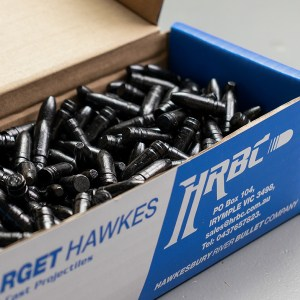 HRBC .308 165gn Round Nose Flat Point – 500 Projectiles