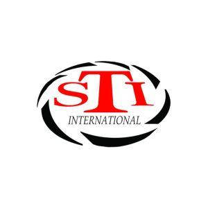 STI Logo Sticker