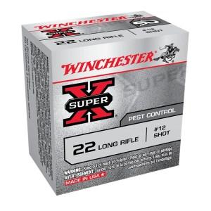 Winchester SuperX Rat/Bird Shot .22LR #12