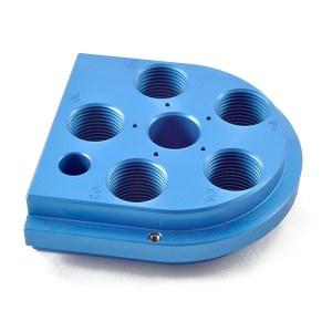 Armanov Dillon 650 ToolHead, Zero Play, Free Float – Blue