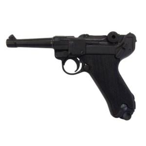 DENIX Luger P08 Black Grips Replica