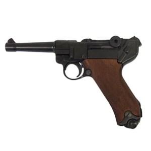 DENIX Luger P08 Wood Grips Replica