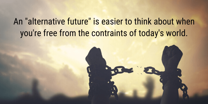 Free yourself from the constraints of today's world.