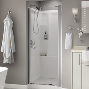 Pivoting Shower Door Installation Delta Faucet
