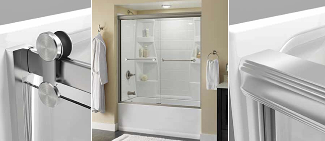 Shower Door Buying Guide How To Choose The Shower Door Type Thats Right For You Delta Shower