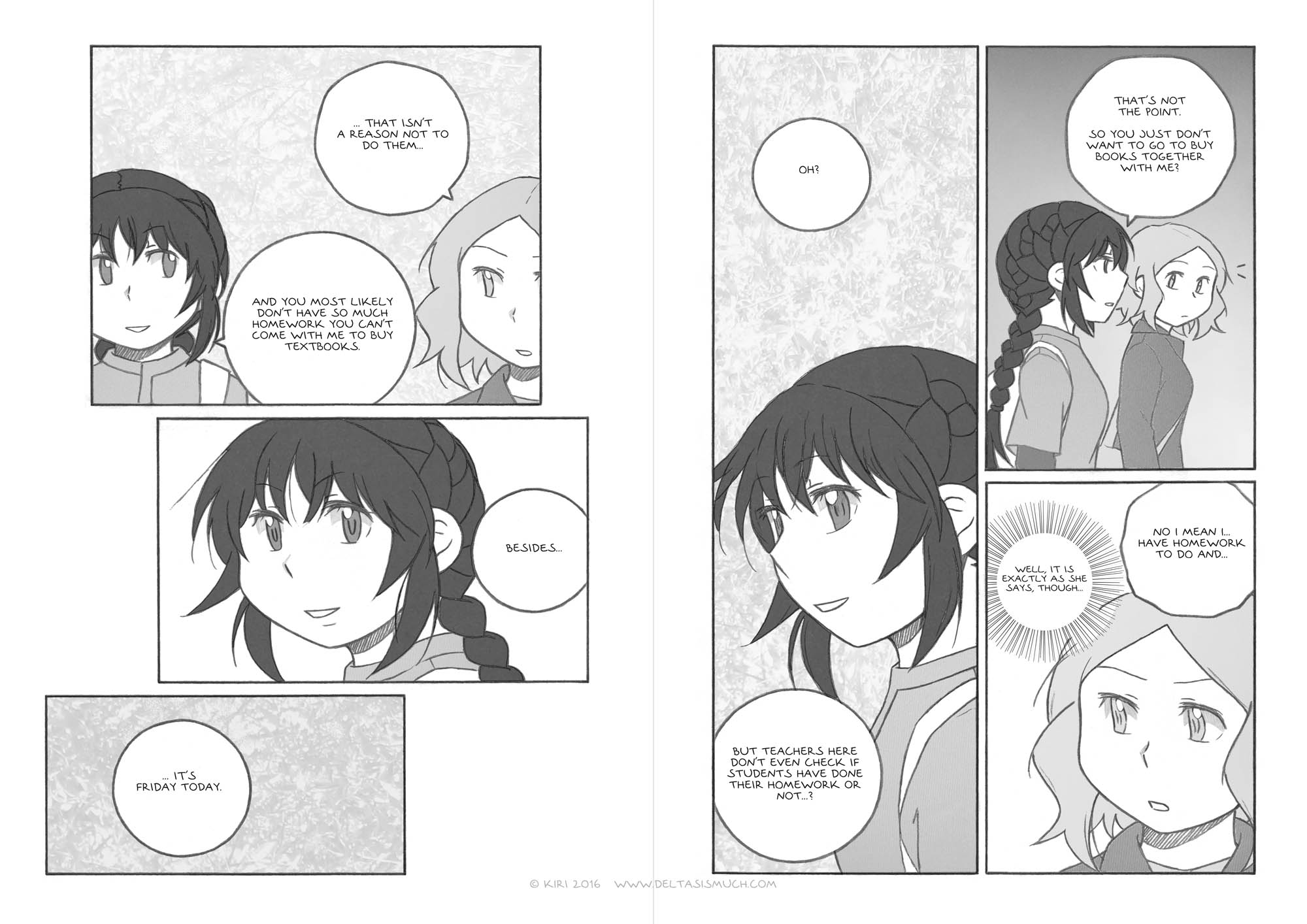 Chapter 3, pages 8 and 9
