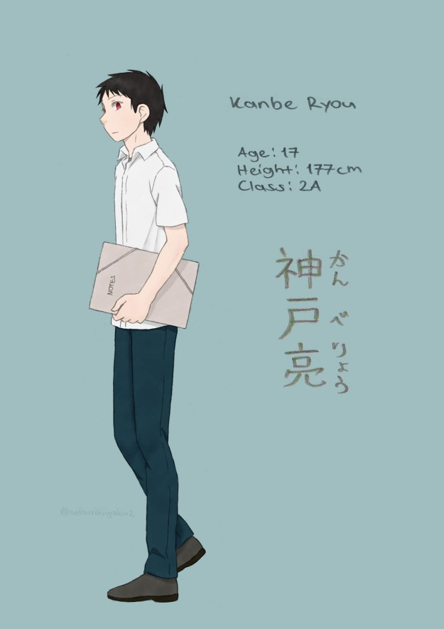 Character introduction of Kanbe Ryou