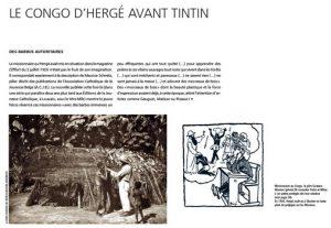 Les tribulations de Tintin au Congo Le Congo dHergé avant Tintin 300x207 - Mise au point…