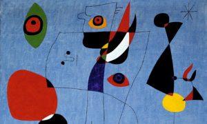 Miró Femmes et oiseaux dans la nuit 300x180 - « Ce qui compte, ce n'est pas une œuvre, c'est la trajectoire de l'esprit durant la totalité de la vie. » (Joan Miró)
