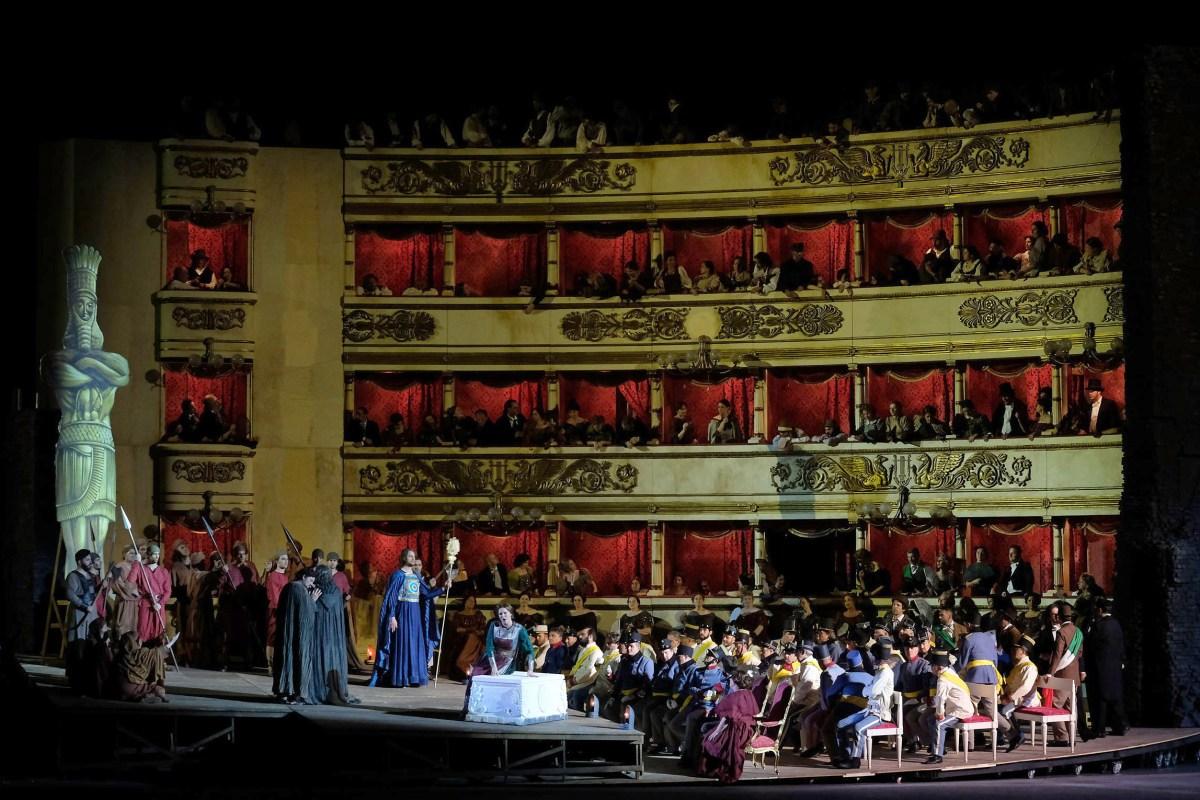 Successo per il Nabucco risorgimentale dell'Arena