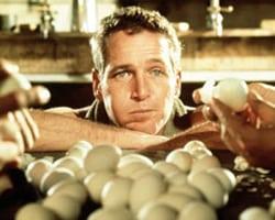 Cool Hand Luke eats the eggs