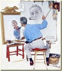 Norman_Rockwell_Self-portrait