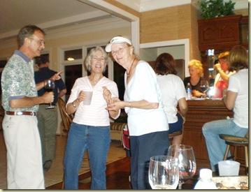 partying at tara