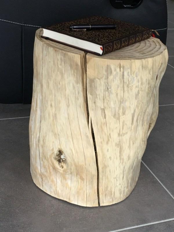 Bout de canapé en bois massif Deluxe Créations