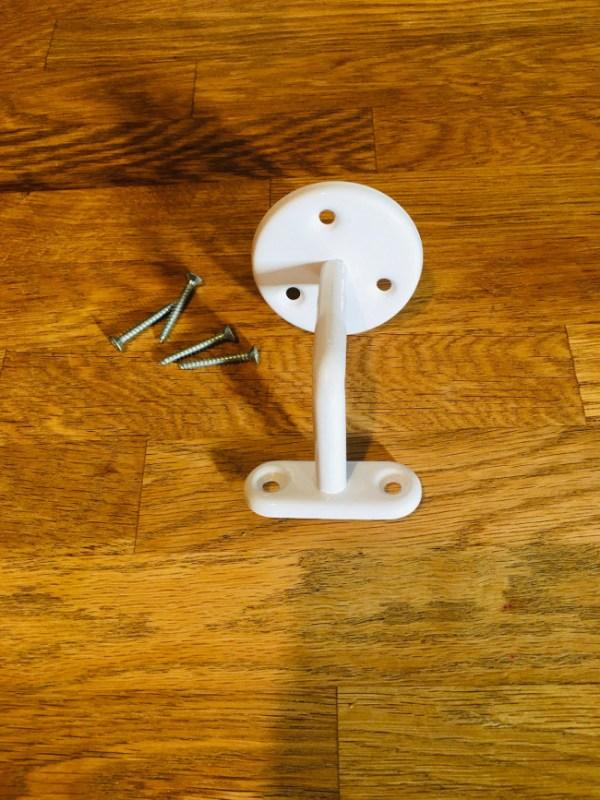 Support en acier inoxydable, pour rampe d'escaliers en bois flotté ou tringle en bois flotté - Deluxe Créations