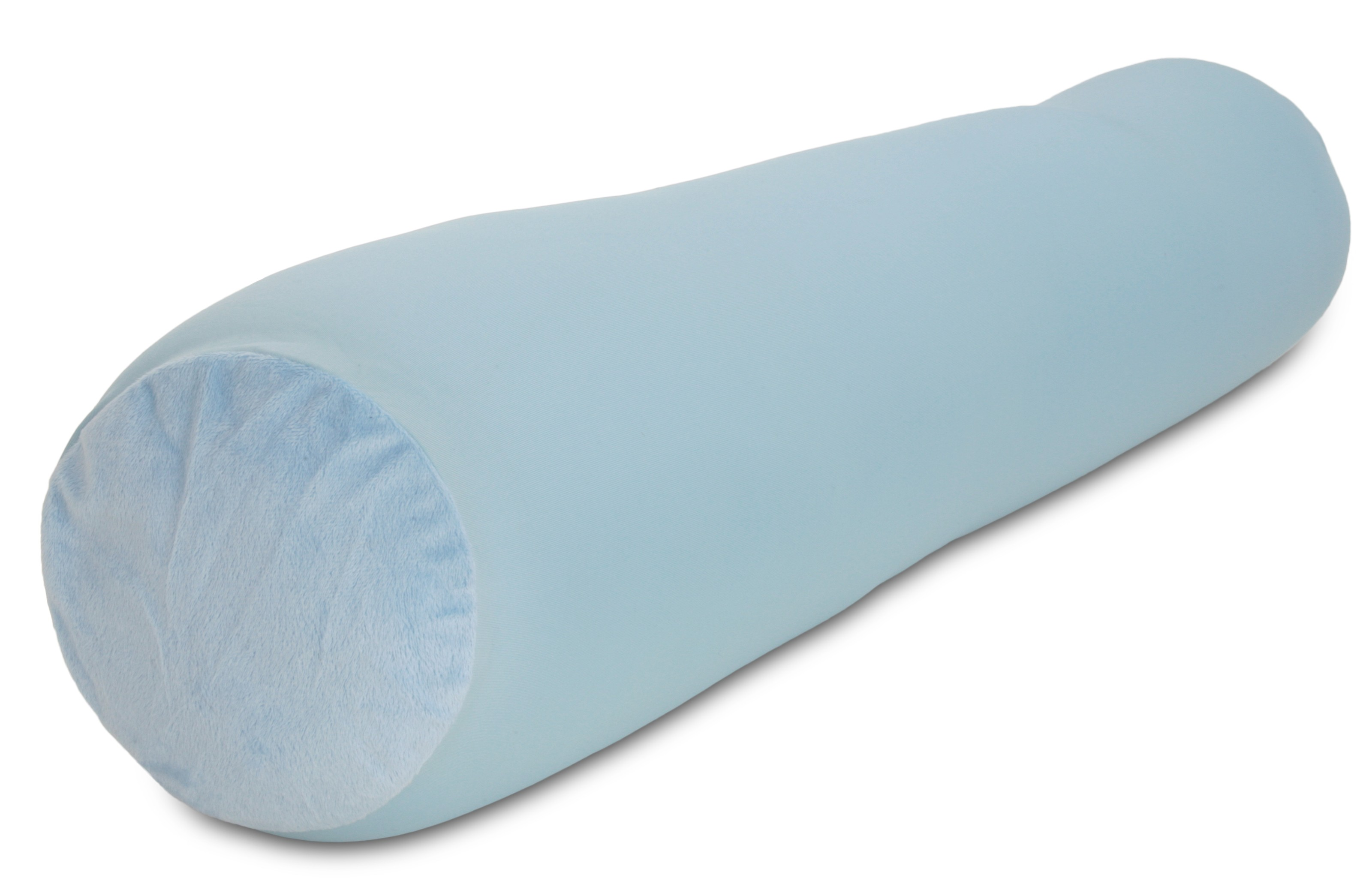 deluxe comfort microbead body pillow 47 x 7 mooshi squishy soft prenatal pregnancy pillow full body side sleeper body pillow light blue