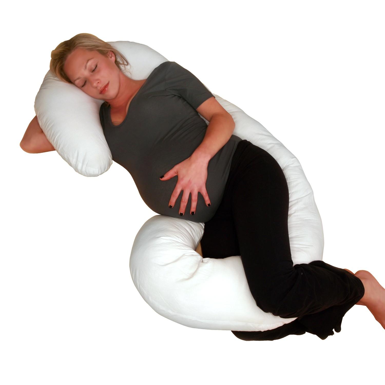 النزل قصيرة مستعمرة maternity body pillow
