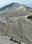 Les lacets du ventoux sont dignes des mythiques épingles de l'Alpe d'Huez...