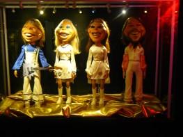 Marionnettes à l'effigie d'Abba