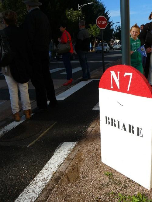 La Nationale 7 relie Parie à Nice... en passant par Lapalisse.