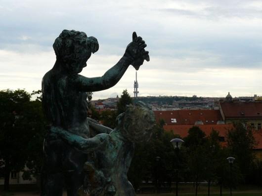 Prague vue d'en haut