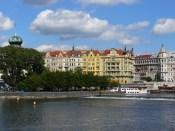 Sur les bords de la Vltava.