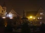 Le brouillard tombe souvent sur Eguisheim...