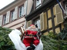 Le père Noël est déjà présent, en Alsace