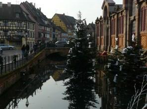 """La """"Petite Venise"""", à Colmar."""