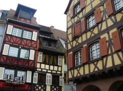 Les maisons à colombages de Colmar.