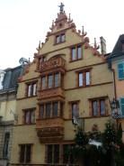 La Maison des Têtes, de Colmar, a été construite en 1609.