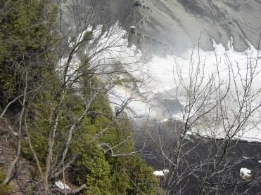 Les chutes de Montmorency.