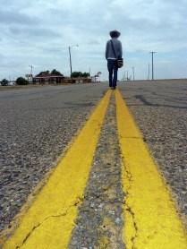 Adrian est située pile à la moitié de la Route 66.