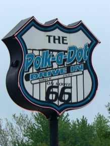 Le Polk-a-Dot, fast-food de Braidwood.