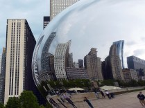 Le Cloud Gate, à Chicago.