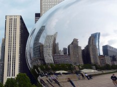 Le Cloud Gate, à Chicago.