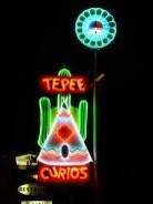 Le TeePee Curios, autre motel mythique de Tucumcari.