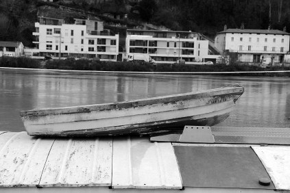 Au bord de la Saône.