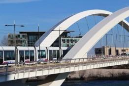 Le pont Raymond-Barre, à Lyon