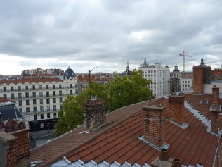 Sur les toits du Printemps.