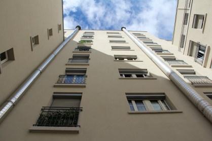 C'est à Villeurbanne qu'ont été érigés les premiers gratte-ciel de France.