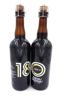 Des bouteilles de bière spéciales ont été éditées pour les 180 ans.