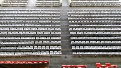 Le stade de Gerland paraît aujourd'hui assez vétuste.